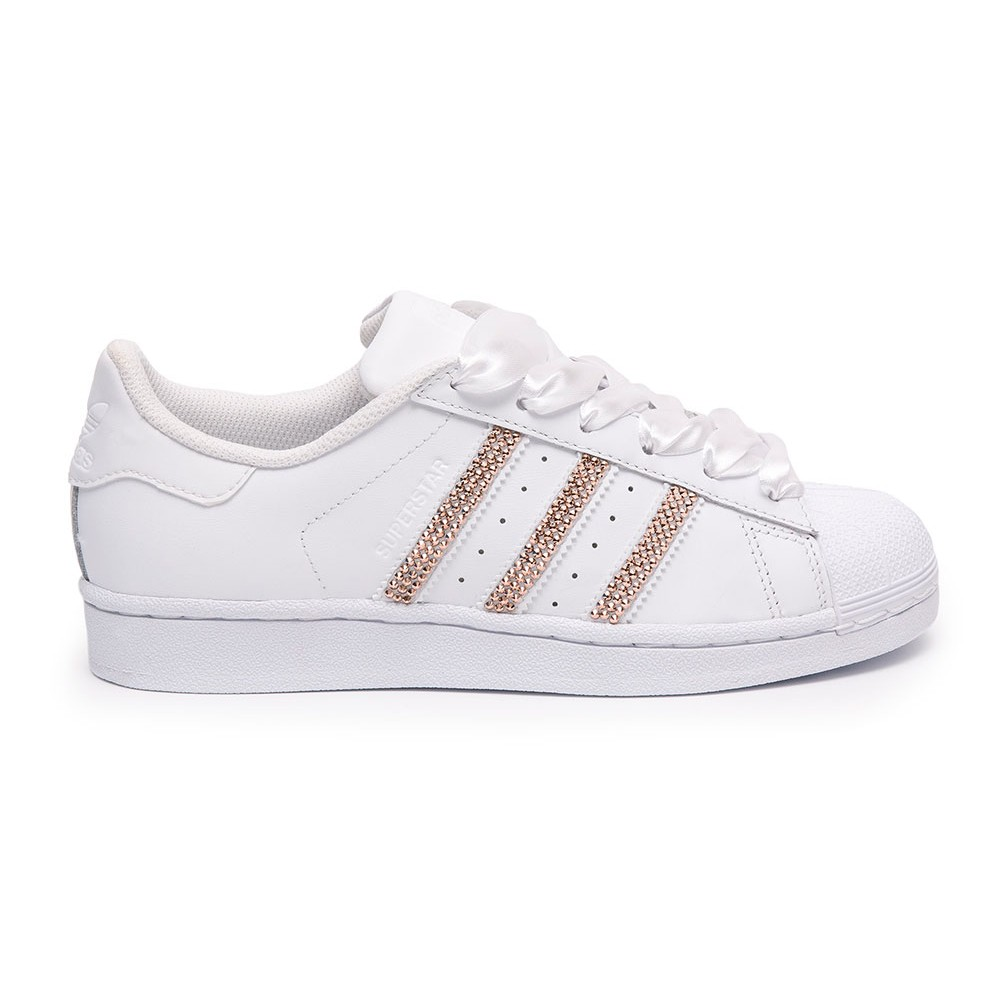 white rose gold adidas superstars adidas Shoes & Sneakers On Sale